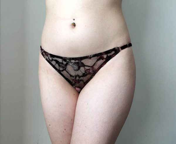 Blossom Knickers sewing pattern with side strap