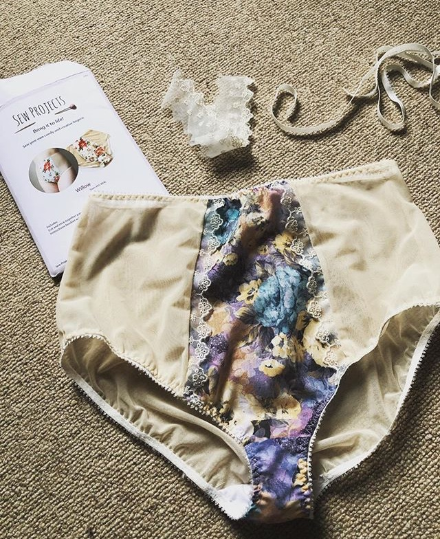 willow sewing pattern high waist knicker review