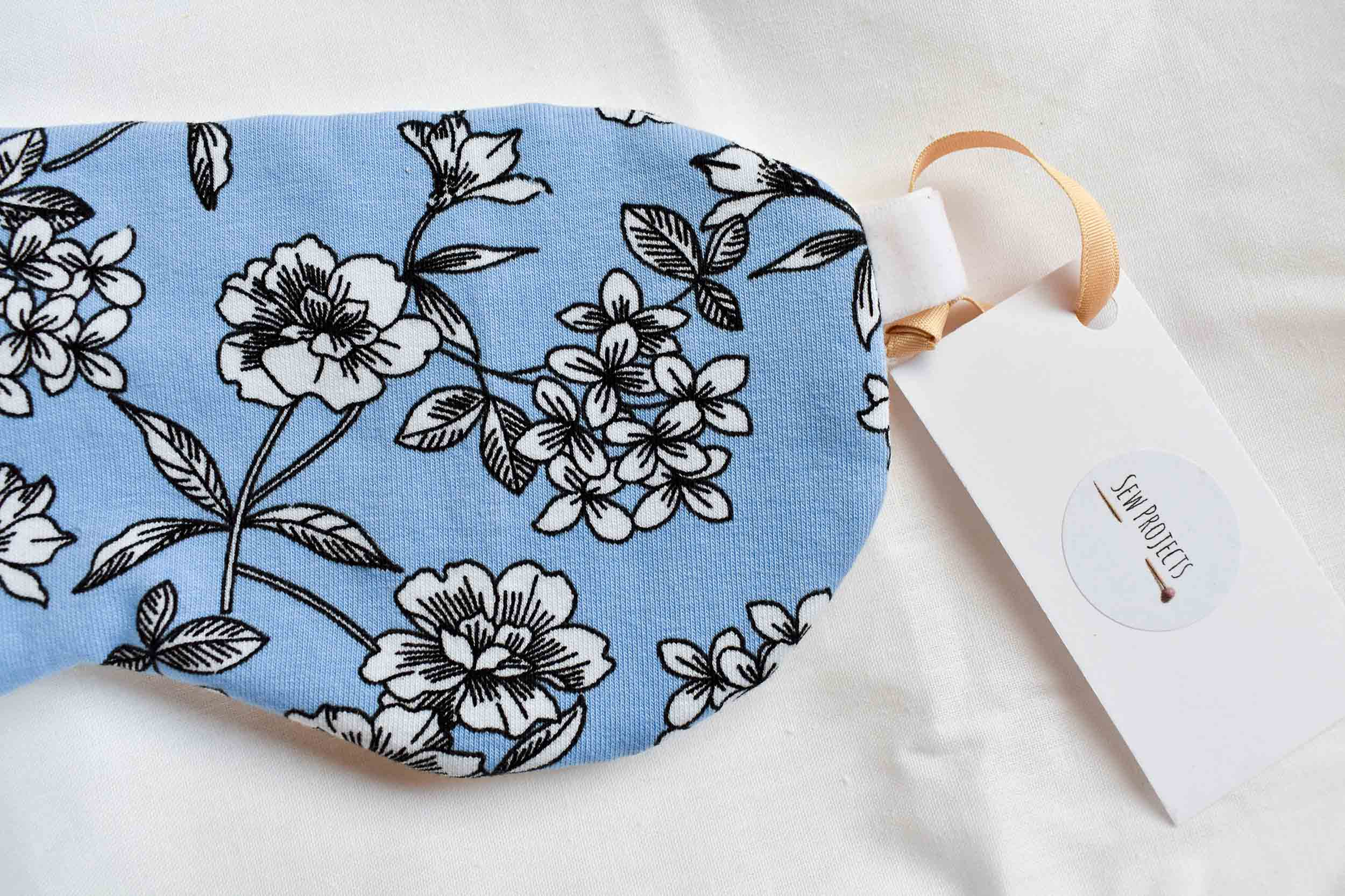 Organic Cotton Floral Sustainable Sleep Mask