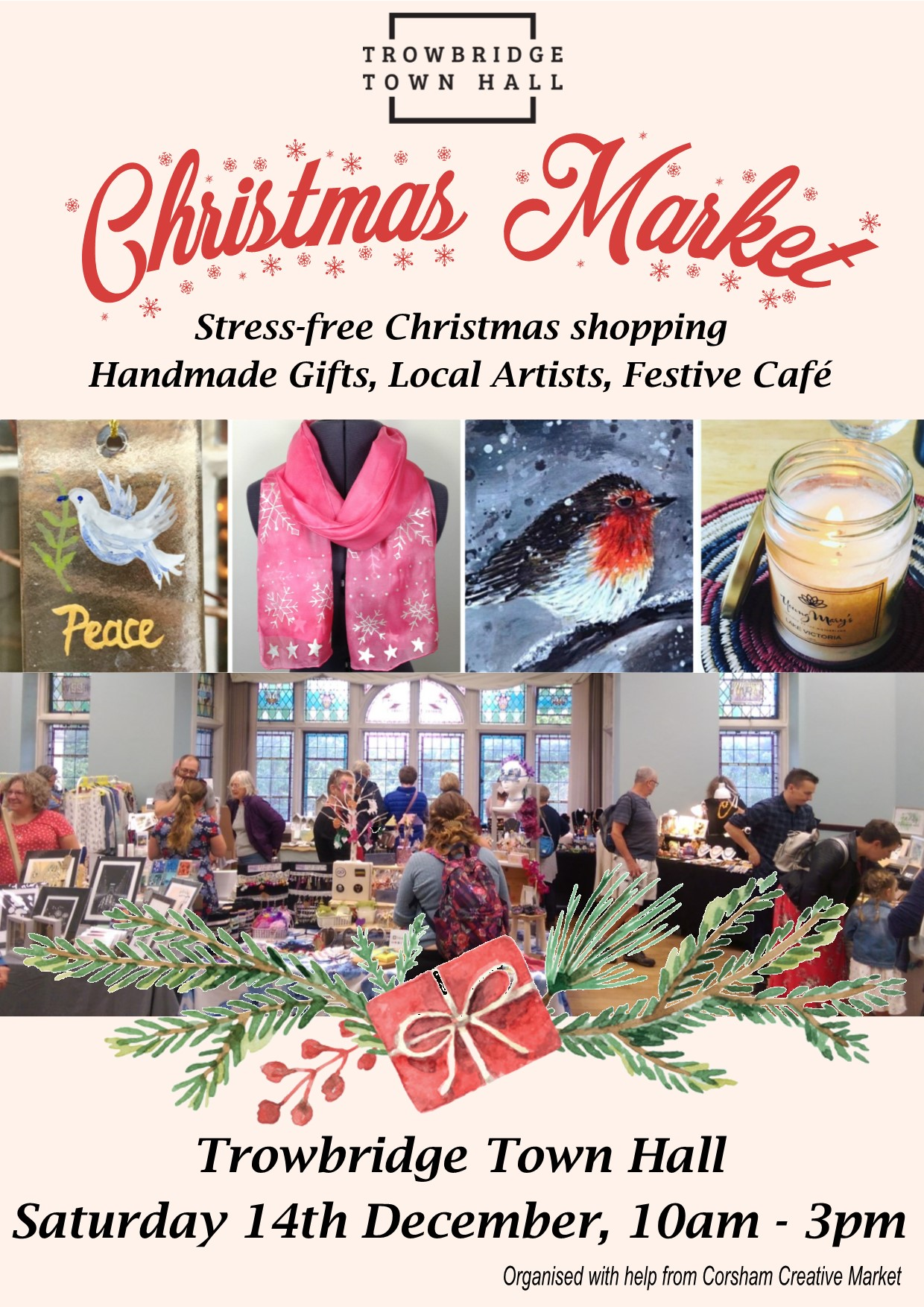 Trowbridge Town Hall Christmas Market
