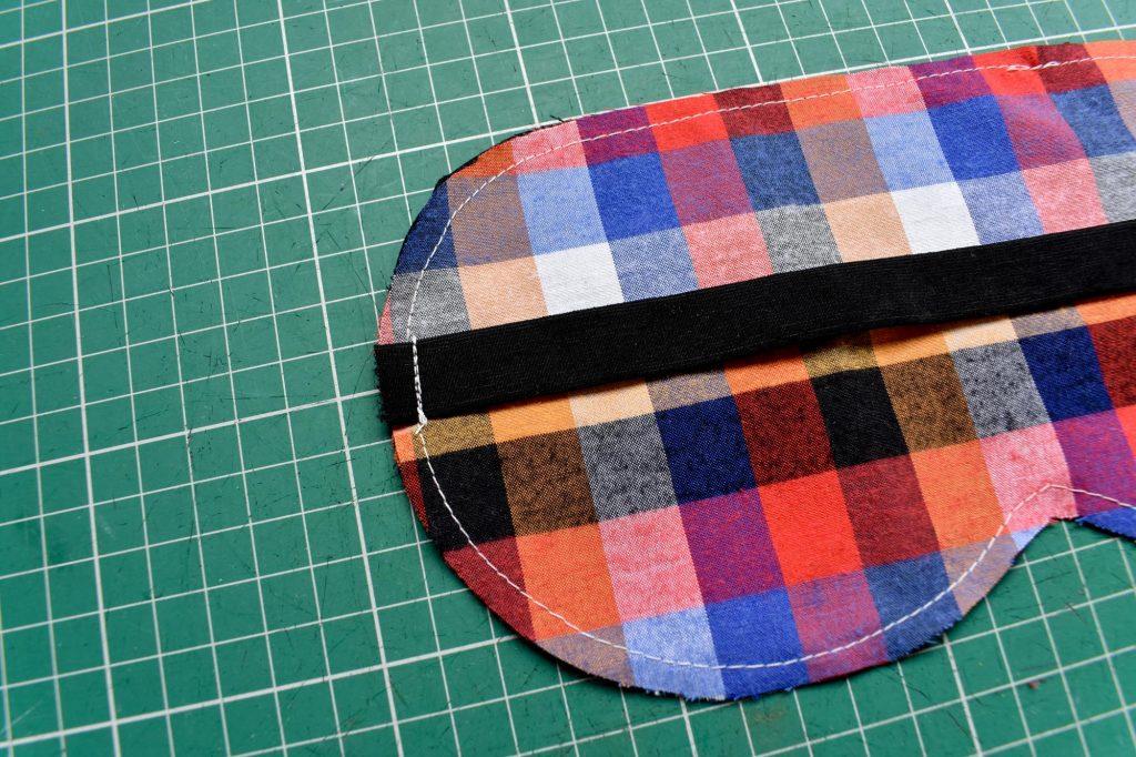 Stitch straps st sleep mask