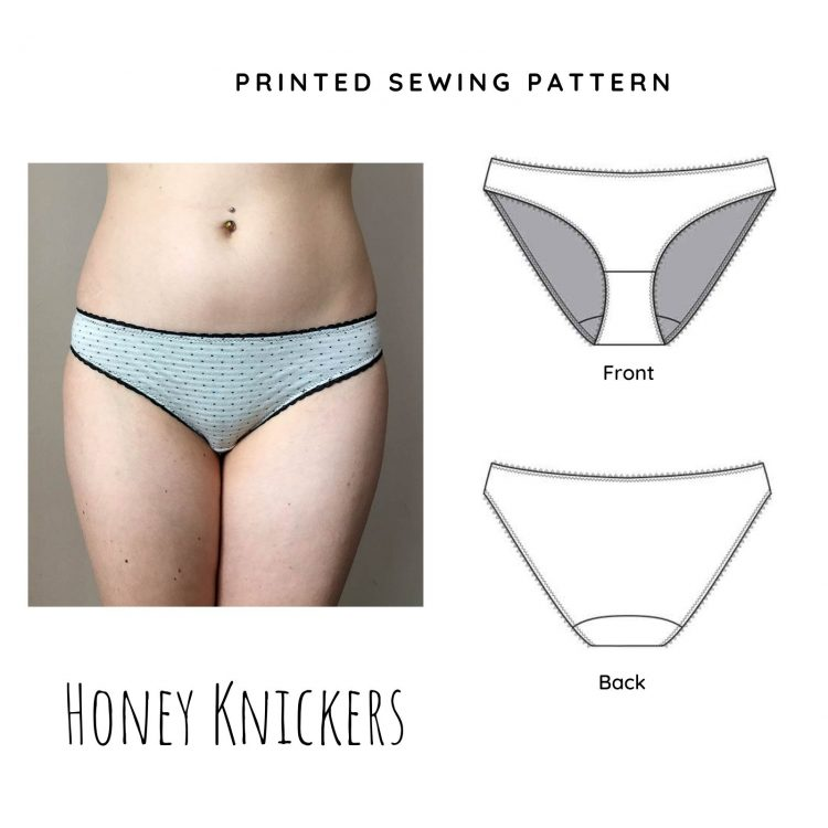 Honey Printed Knicker Sewing Pattern