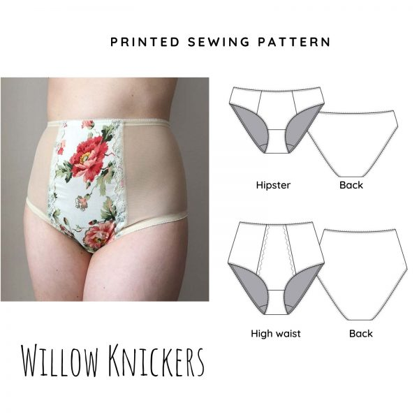 Willow Printed Knicker Sewing Pattern