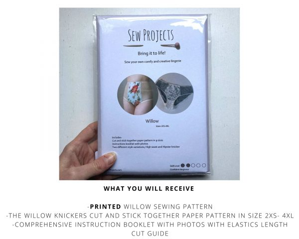 Willow Printed Sewing Pattern
