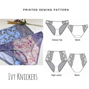 Ivy Printed Knicker Sewing Pattern