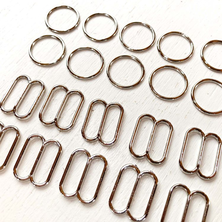 15mm wide mouth rings and sliders