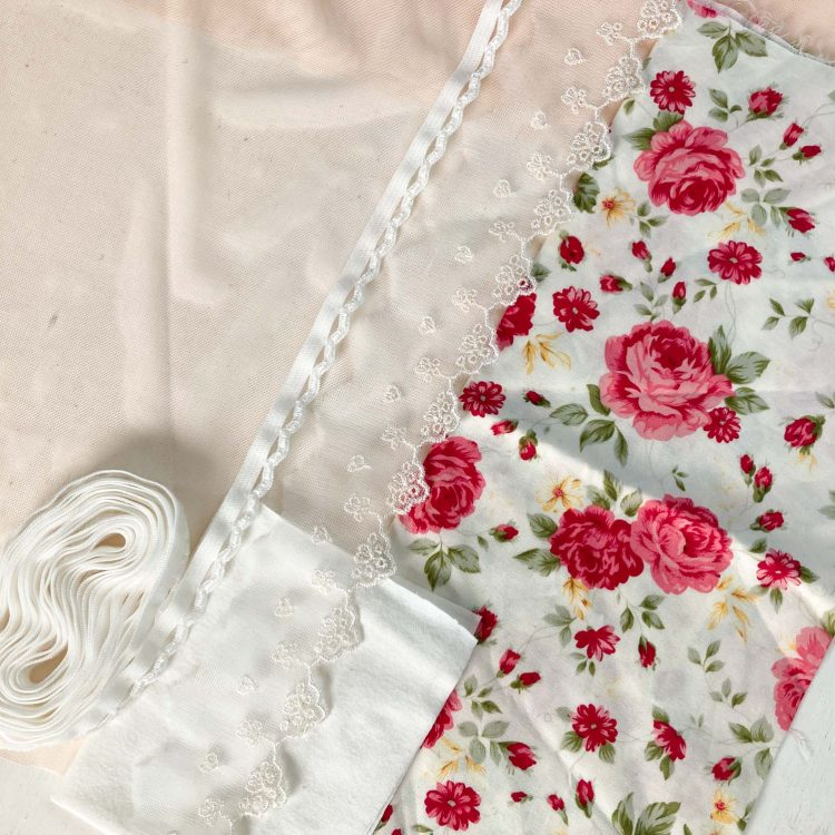 Floral knicker Willow making kit