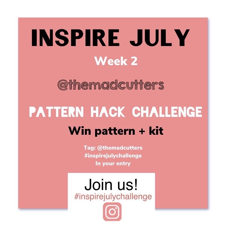 Inspire July challenge The Mad Cutters