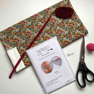 Beginner knicker sewing kit mustard