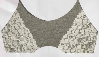Lace design for Barbary Bralette
