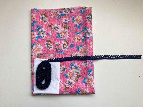 Beginner knicker making kit Pink floral