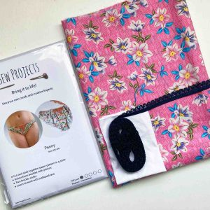 Beginner knicker making kit Pink floral