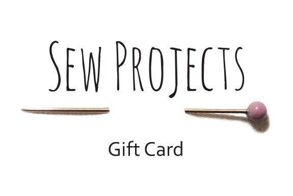 Sew projects Gift card