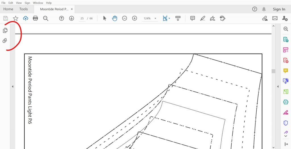 How to print PDF and digital patterns guide